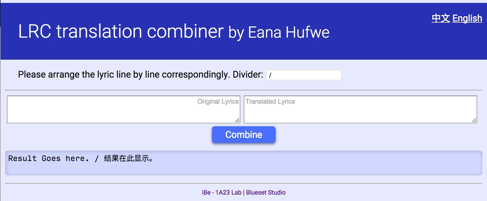 LRC Translation Combiner