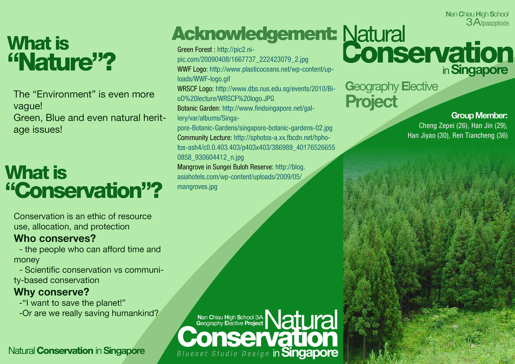 Natural Conservation in Singapore